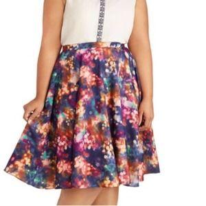 ModCloth Bea & Dot Ikebana For All Skirt 4X